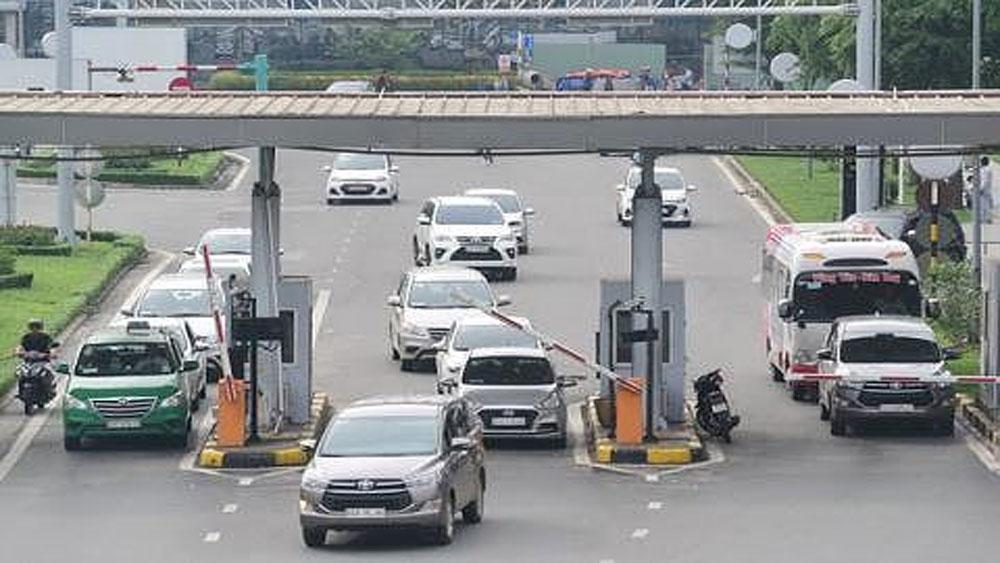 Ô tô ra vào sân bay sẽ không bị thu phí